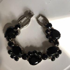 Jewelry - Juliana black stone bracelet